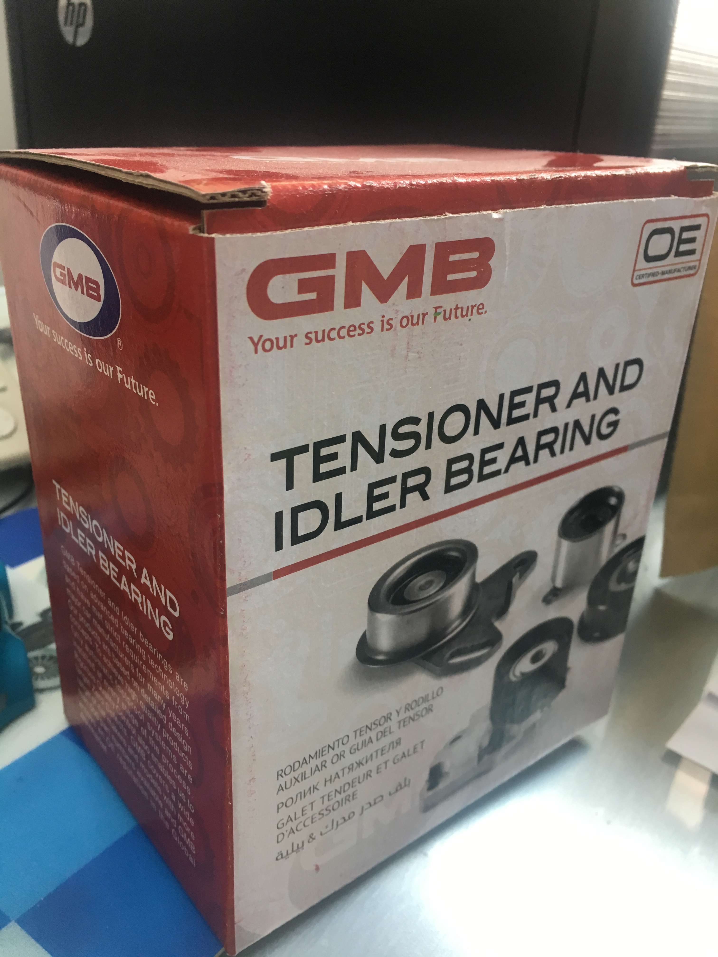 GT80750 GMB   96350526, OPTRA TENSIONER BEARING /30's_2
