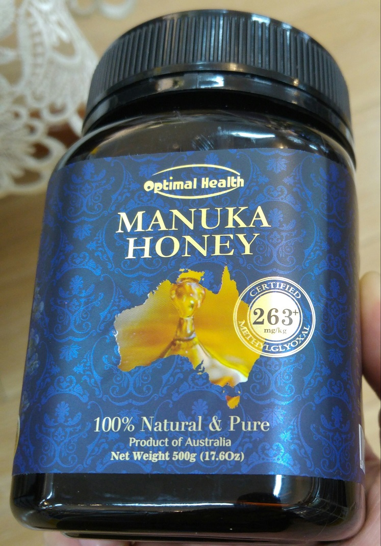 OPTIMAL HEALTH MANUKA HONEY MGO 263 Certified Australian Honey All Natural Anti-Bacterial Health Premium