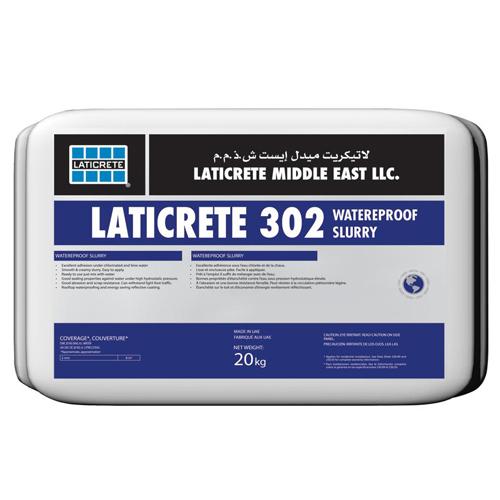 Laticrete 302 waterproof slurry