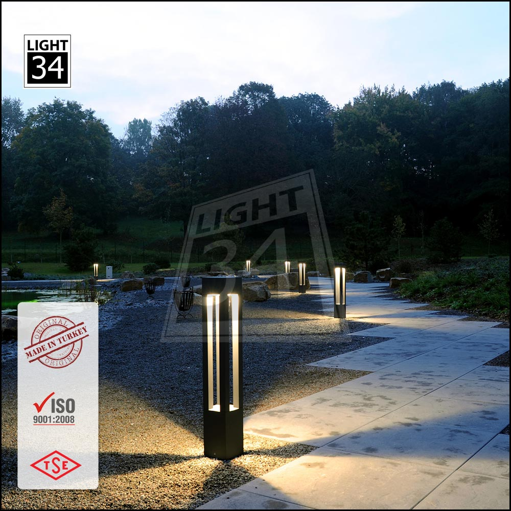 Modern Lighting 20 W Led Street Lighting Aluminum Bollard Light