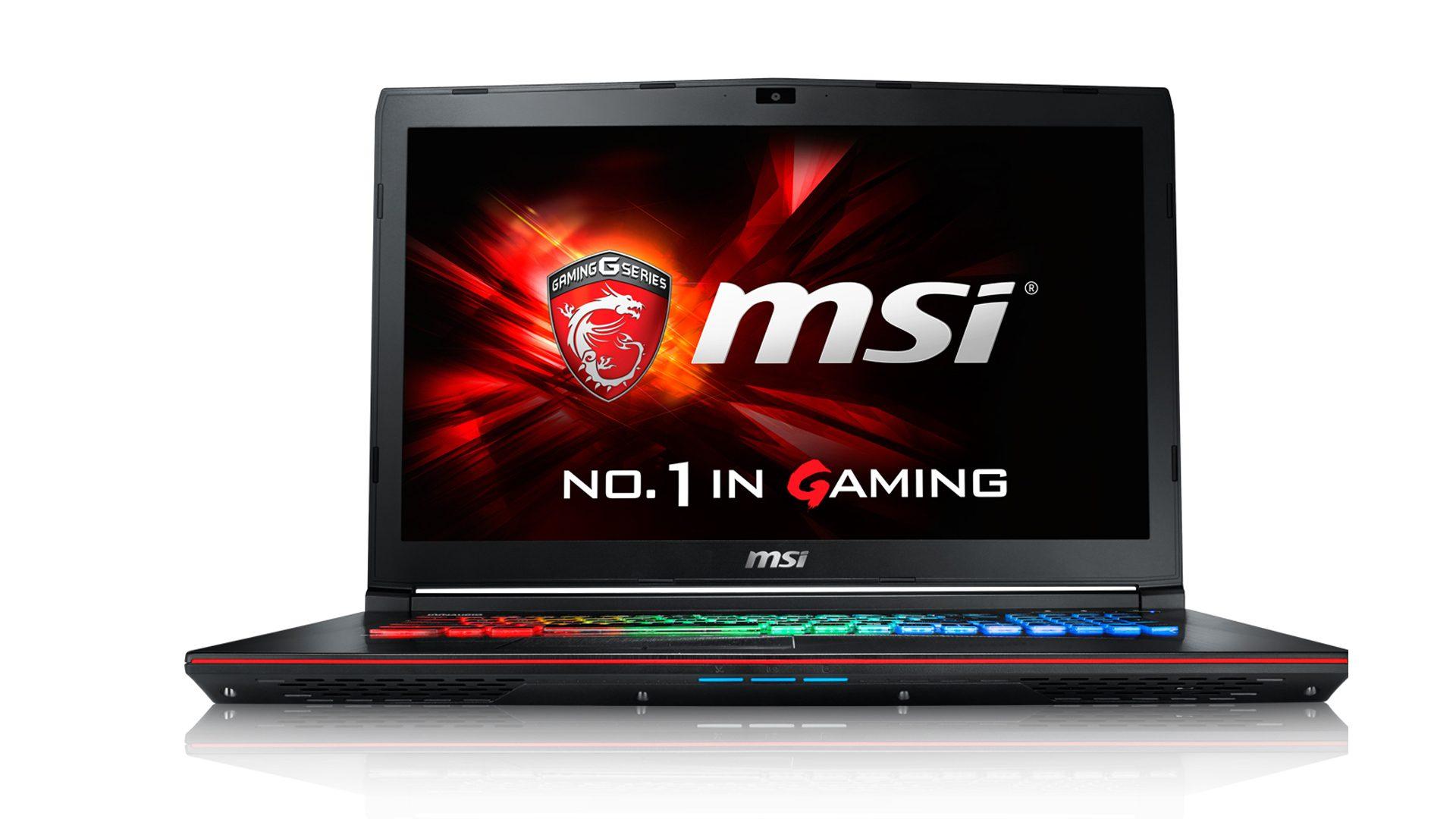 Msi ge72vr 7rf (apache pro) - gaming notebook i7-7700hq+hm175/12gb ddr4 ram/1tb hdd + 128gb ssd/nvidia geforce gtx1060 6gb ddr5 graphics/win10/17.3 inch fhd /black