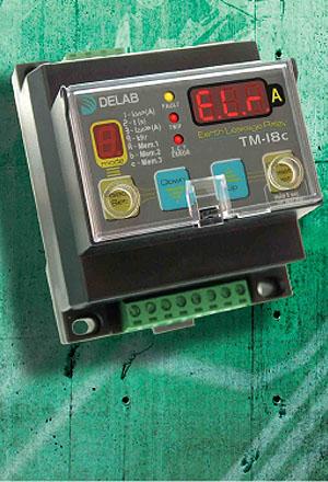 Earth leakage relay (digital)