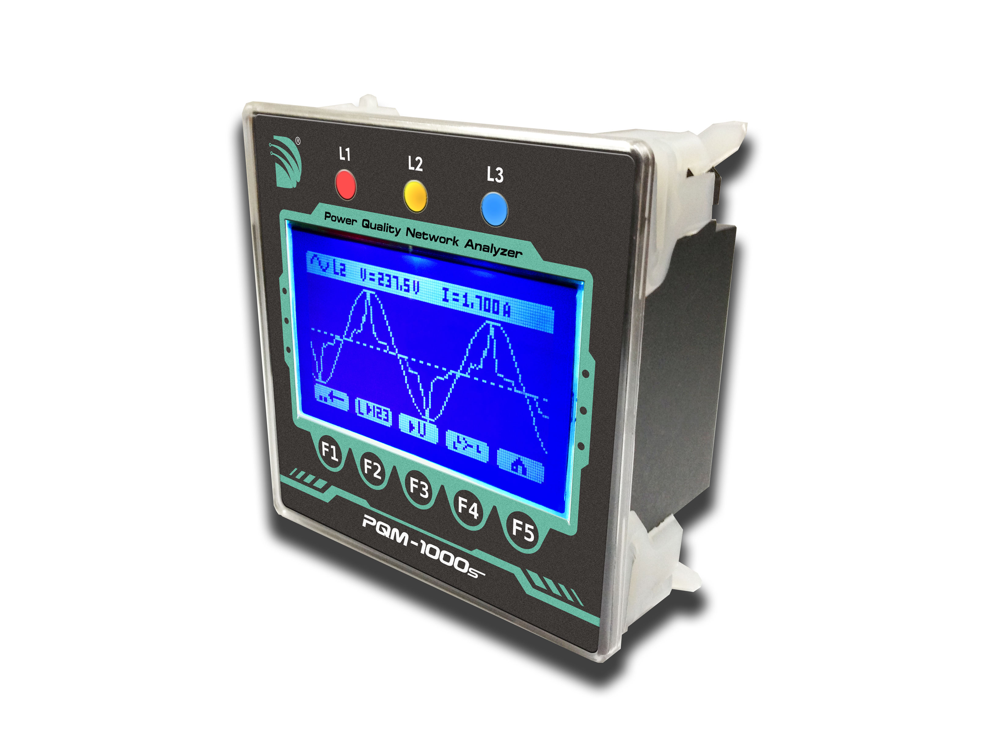 Multifunction LCD Power Meter/Power Quality Network Analyzer_3