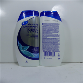 Head and shoulders men shampoo 400 ml instant scalp relief