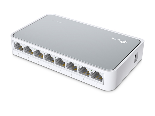 TP-LINK 8-Port 10/100Mbps Desktop Switch Unmanaged network switch White_4