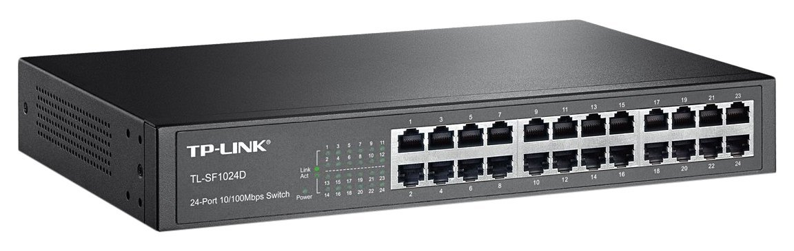 Tp-link 24-port 10/100mbps desktop/rackmount switch tl-sf1024d
