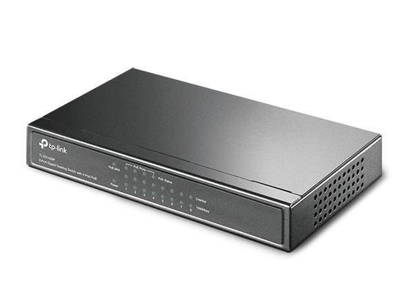 TP-Link 8-Port Gigabit Desktop Switch with 4-Port PoE TL-SG1008P_4