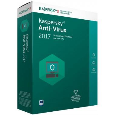 Kaspersky anti-virus personal 2017 - 4 user