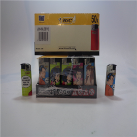Bic briquets j39 cartoons (50 pc.)