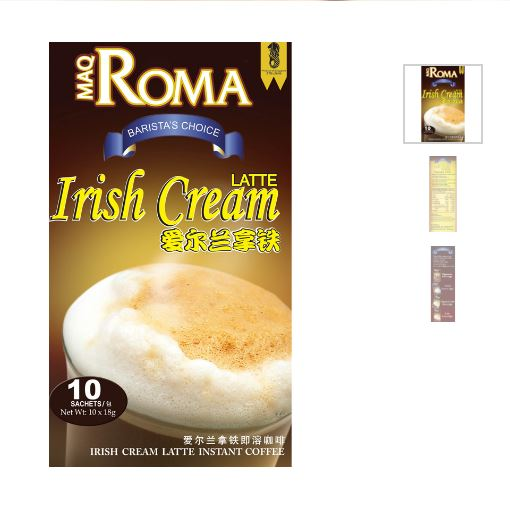 Irish cream latte