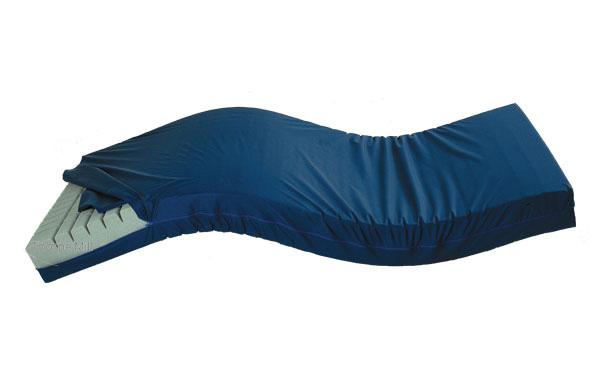 Waterproof wipe clean pu coated anti decubitus medical mattress covers with zipper (anti bedsore)
