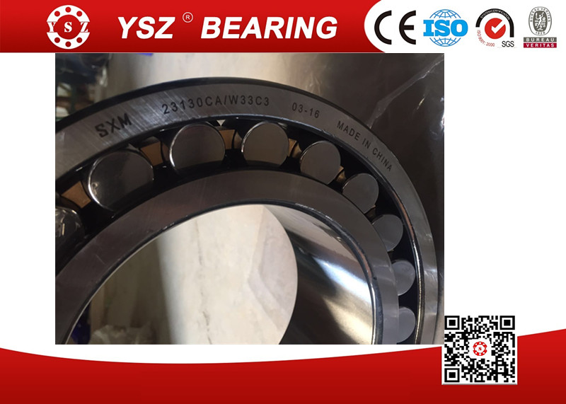 Mechanical parts industrial spherical roller bearing 23130caw33c3 250*150*80 mm straight bore