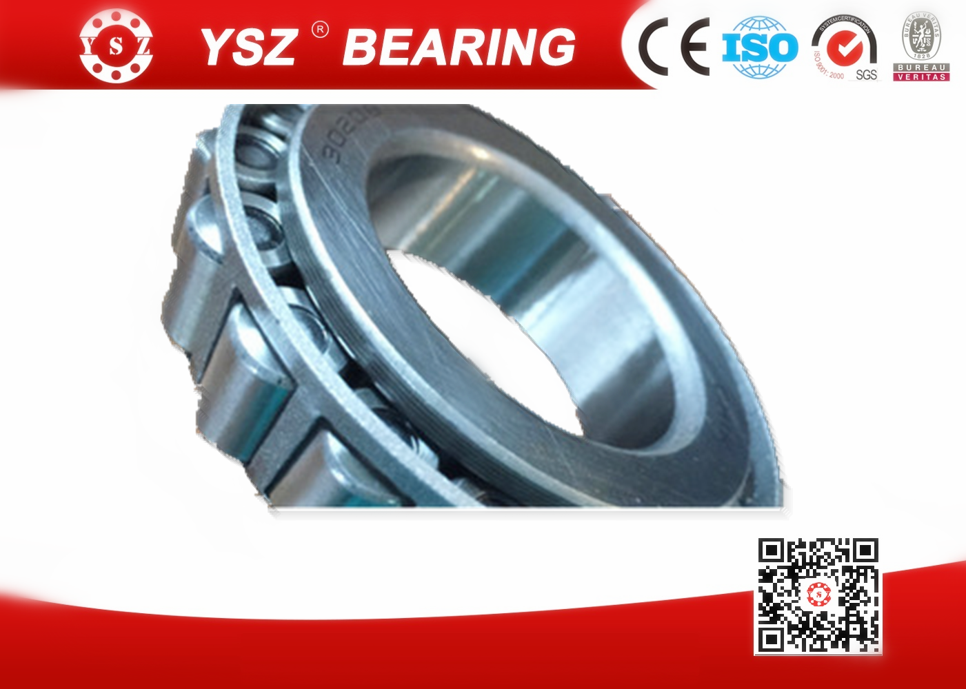 Gcr15 steel single row tapered roller bearings for heavy truck 32028 140*210*45 mm