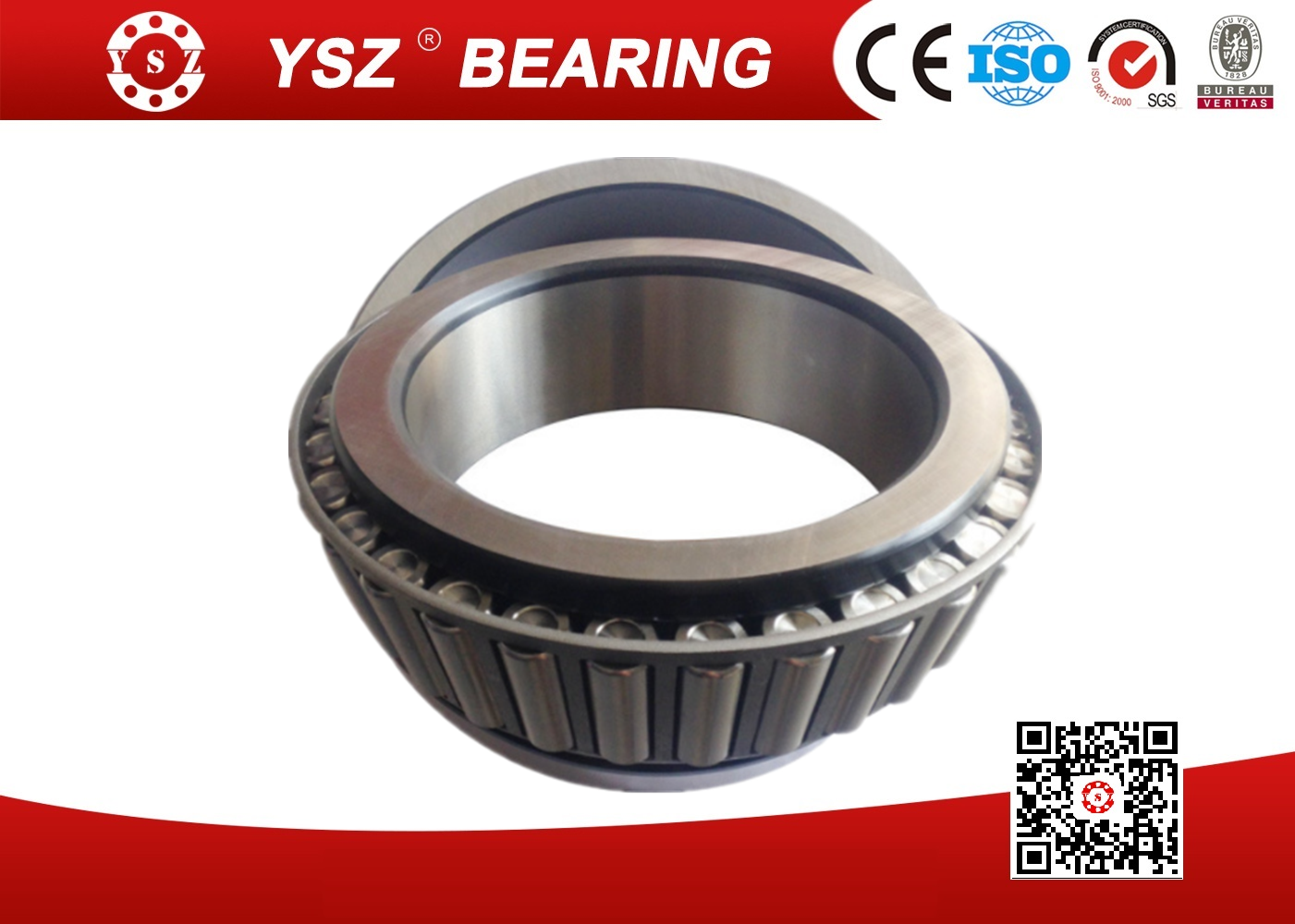 GCr15 Steel Single Row Tapered Roller Bearings For Heavy Truck 32028 140*210*45 mm_4