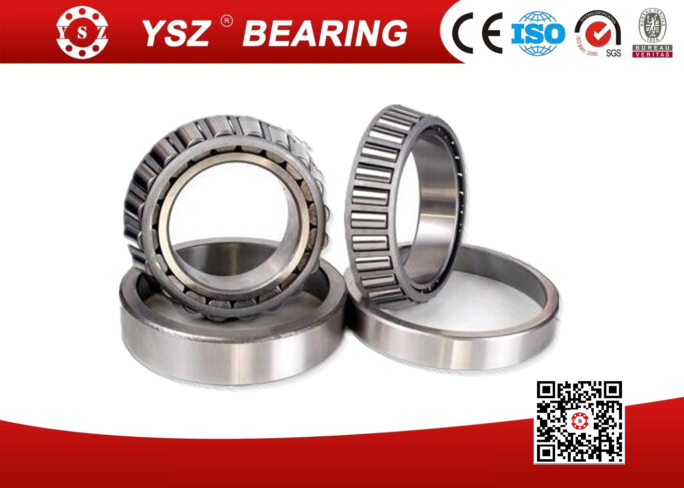 High Precision Metric Single Row Tapered Roller Bearings 09074/09195/QVQ494 For Motors_3