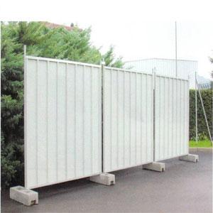 Steel fence panel