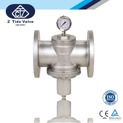Direct Acting Pressure Regulator / Pressure Reducing Valve_2
