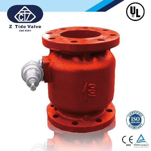 Ul-listed pressure reducing valve