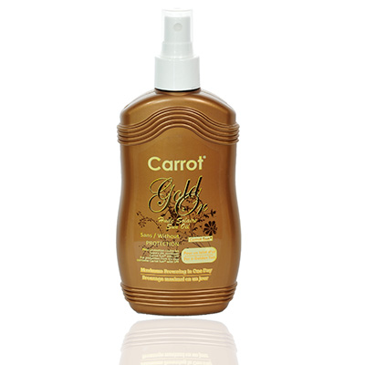 Carrot - gold spray