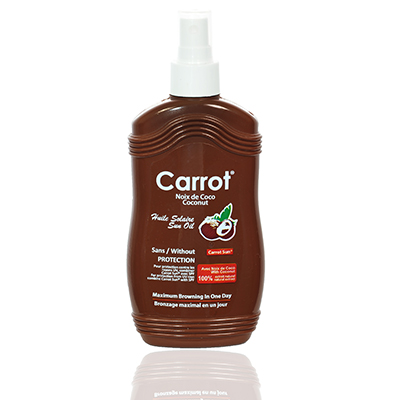 Carrot - coconut oil