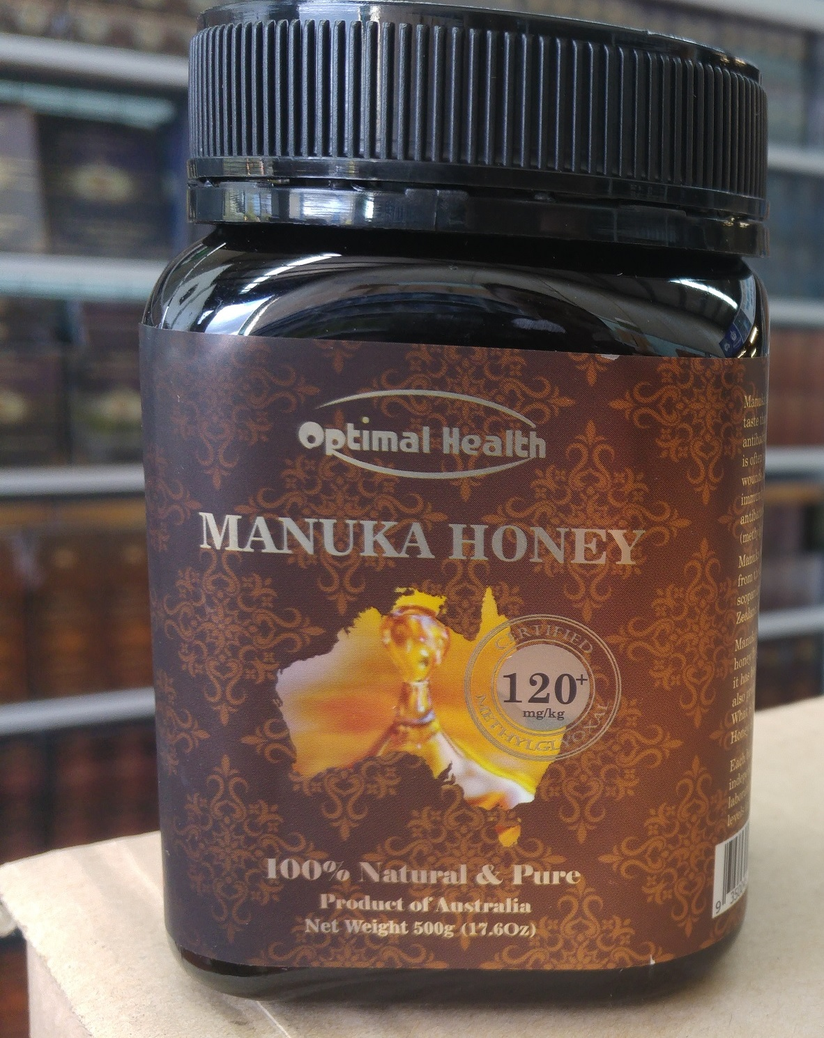 Optimal health manuka honey