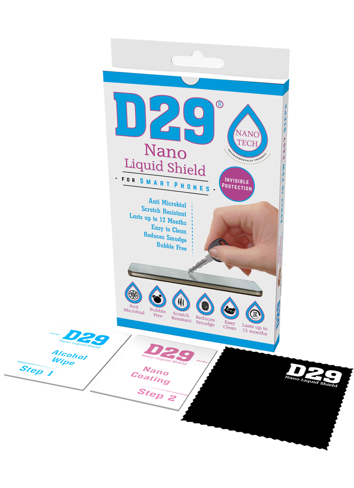 D29 nano mobile liquid screen protector