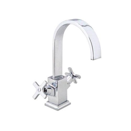 MG-EL234 Ancient Swan Washbasin Battery Faucet_2