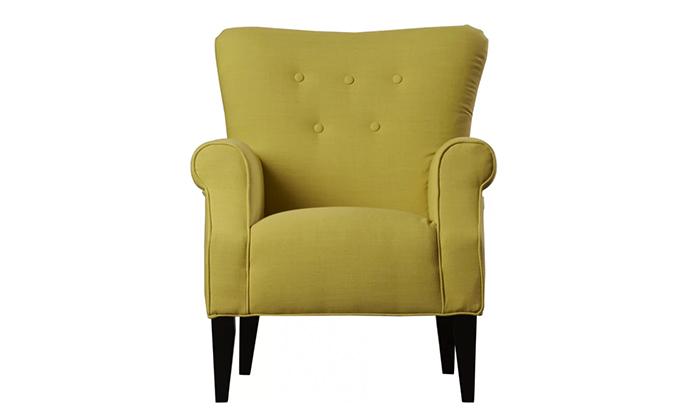 Button Back Armchair Furniture