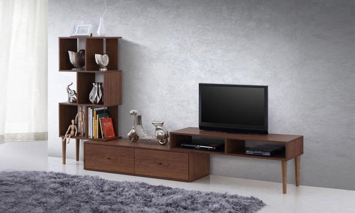 Winchester Mid-Century Modern TV Stand Furniture
