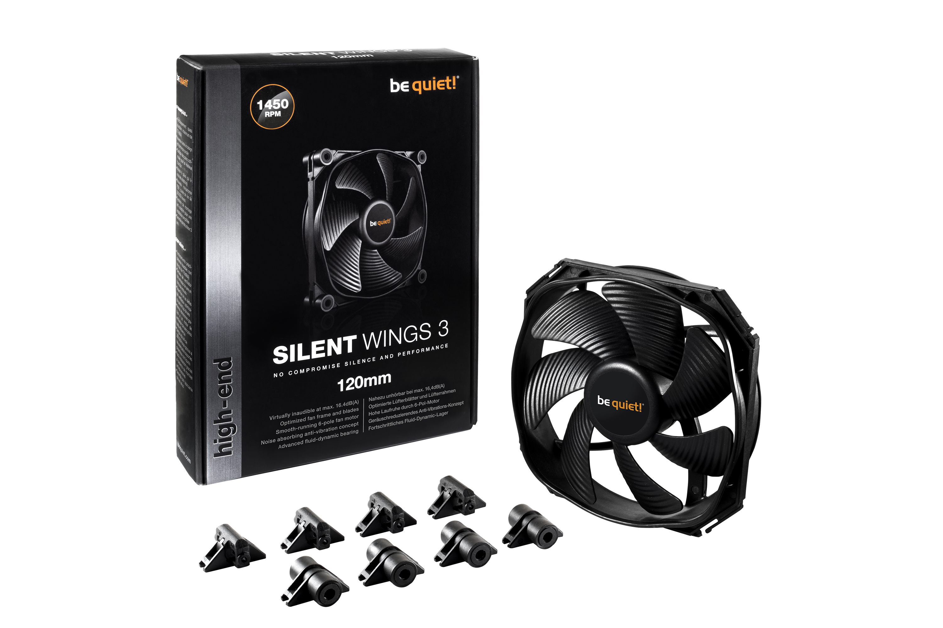 Be quiet silent wings 3 cpu fans germany