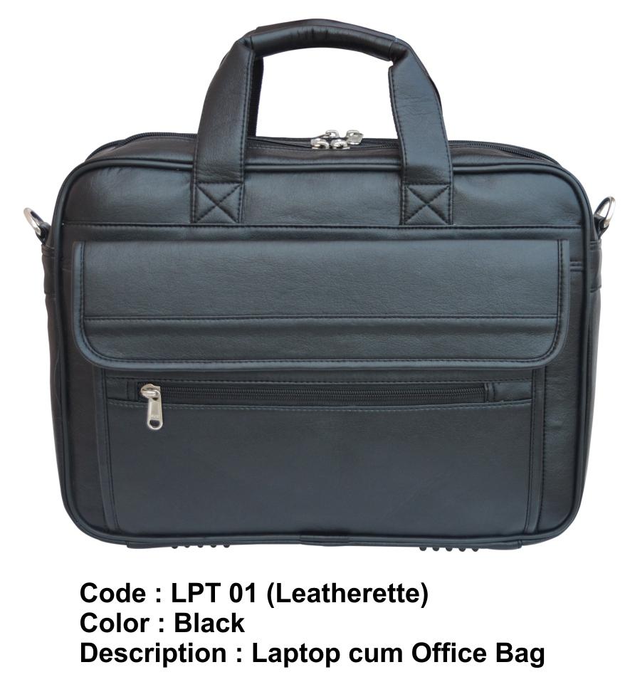 Laptop cum Office Bag - Leatherette