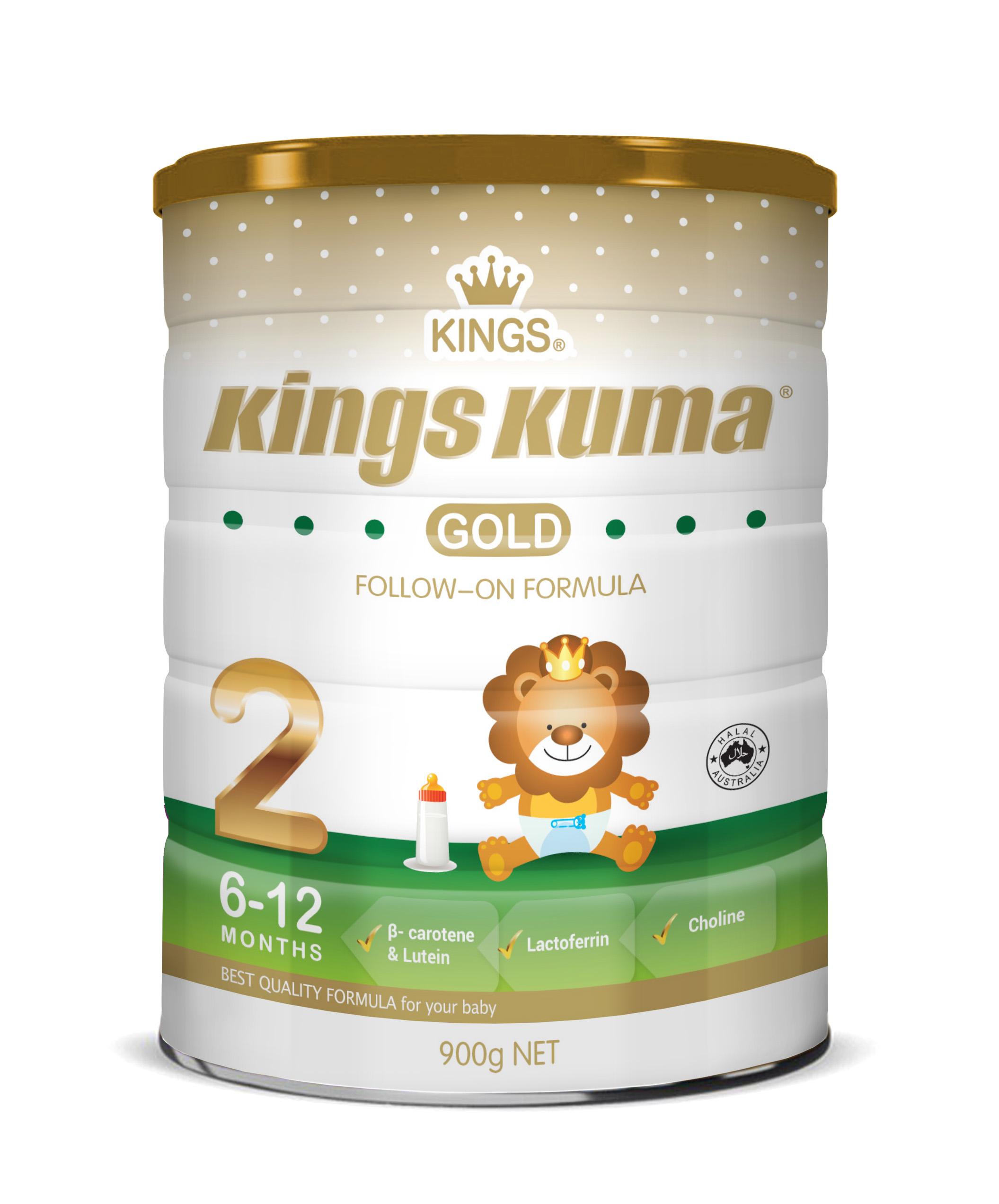 KINGS KUMA Infant Formula Step 2 (6-12 months)