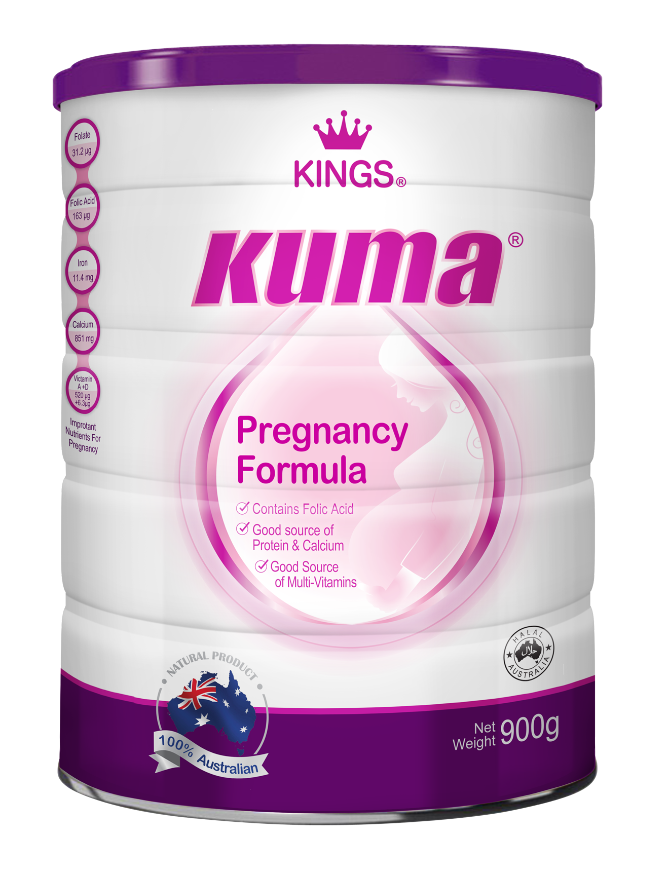 Kings kuma pregnancy formula, supplements