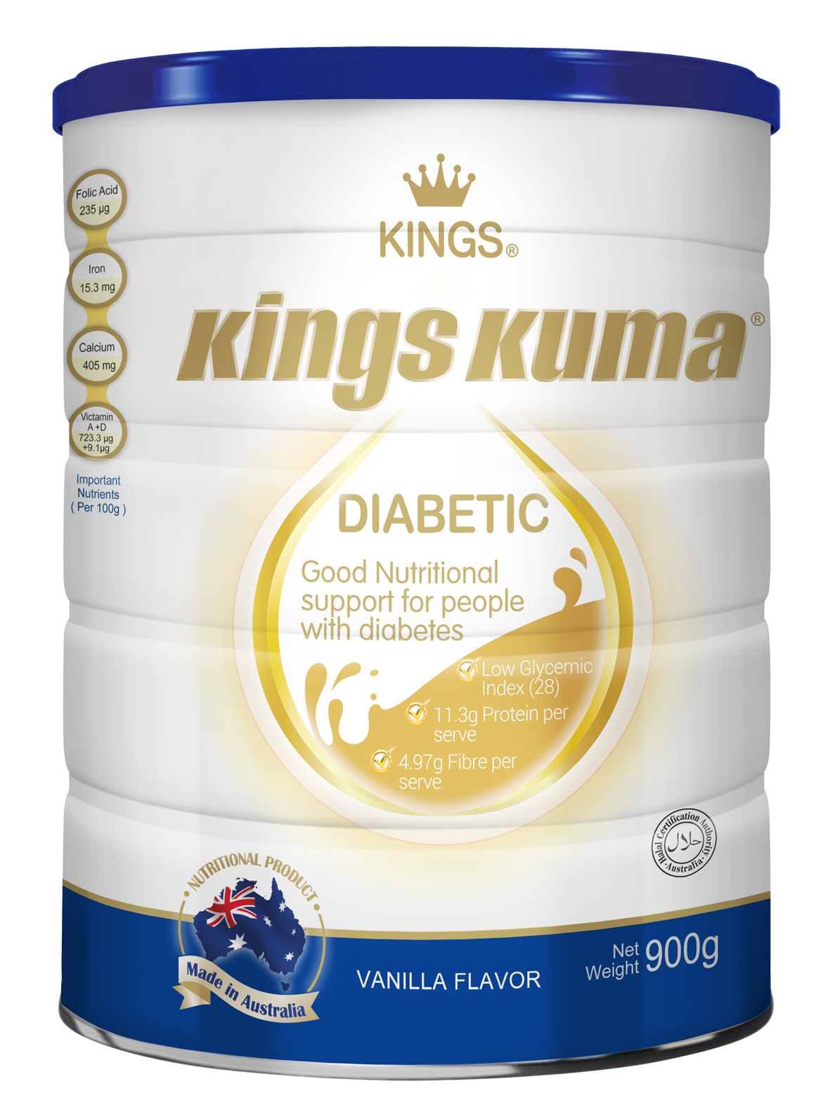 Kings kuma diabetic milk powder formula, supplement