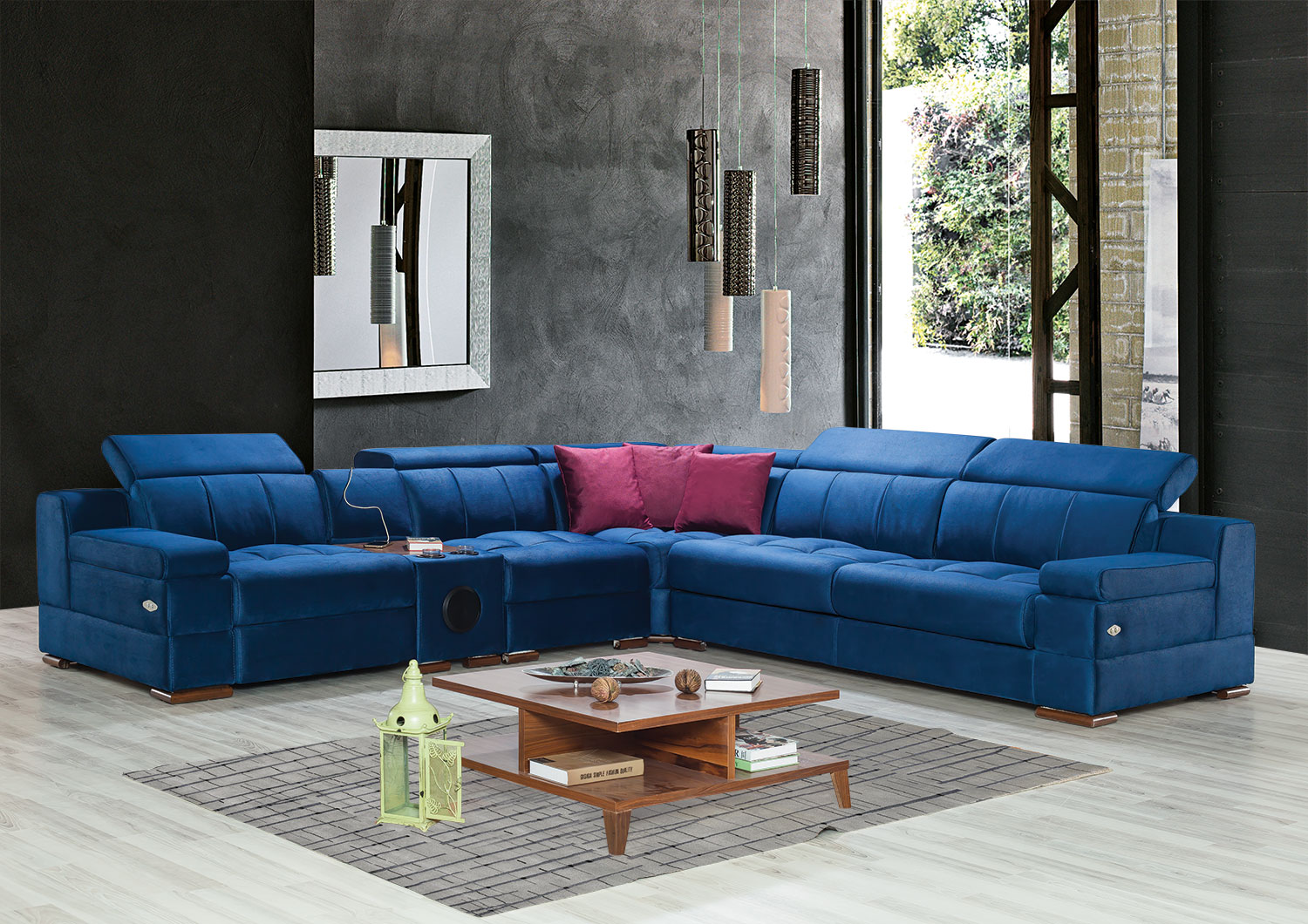 Tesla Corner-Sofa Set