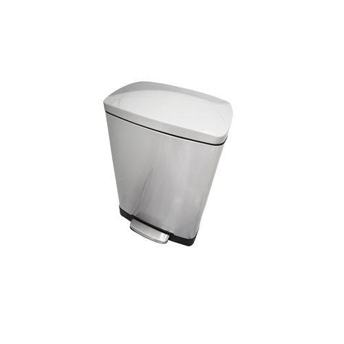 Stainless Steel Dustbin with Pedal_2