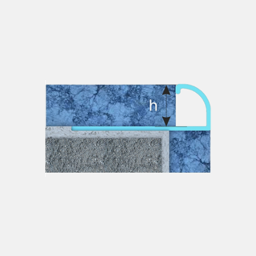 Sk series ceramic  exterior corner profile- flooring