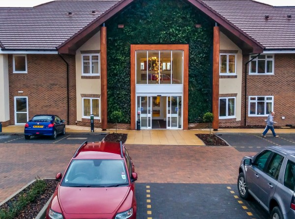 Exterior large scale care home