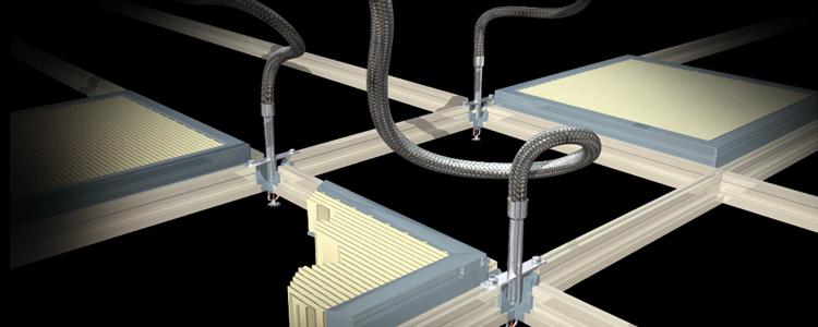 Cleanroom Flexible Sprinkler System_2