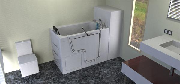 Fast fill water tank