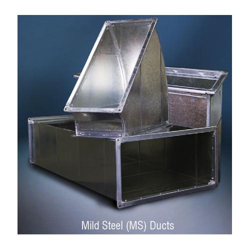 Mild steel air duct