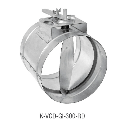 K-VCD-GI-300-RD Volume Control Damper_2