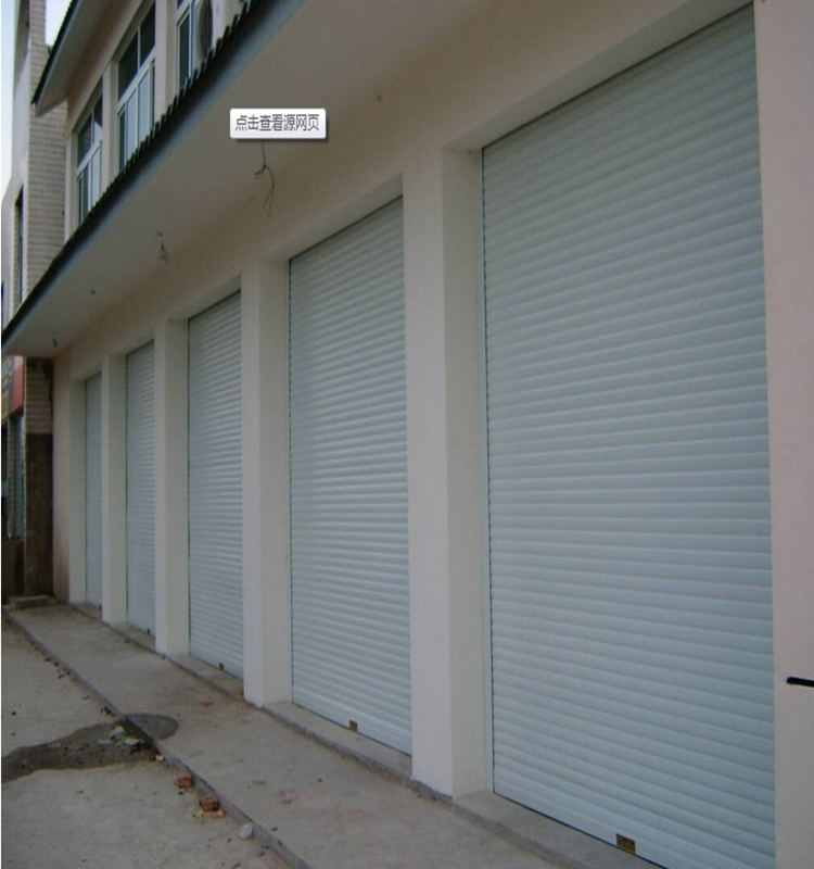 Security door stainless steel automatic sliding garage gate door