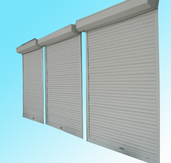 Swning window design aluminum electric windowshutter