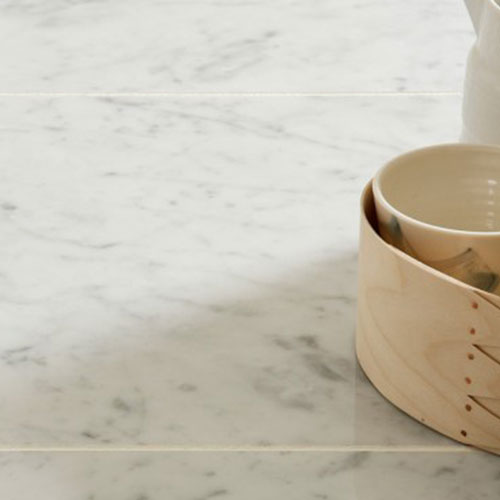 12''x12'' Polished Bianco Carrara Marble Tile_2
