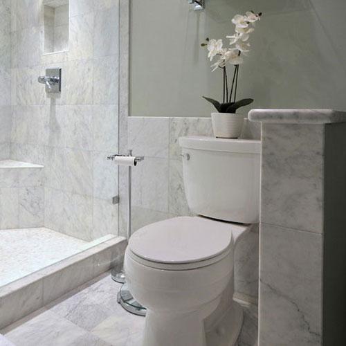 Class A Carrara White Marble Polished Floor Tile_2