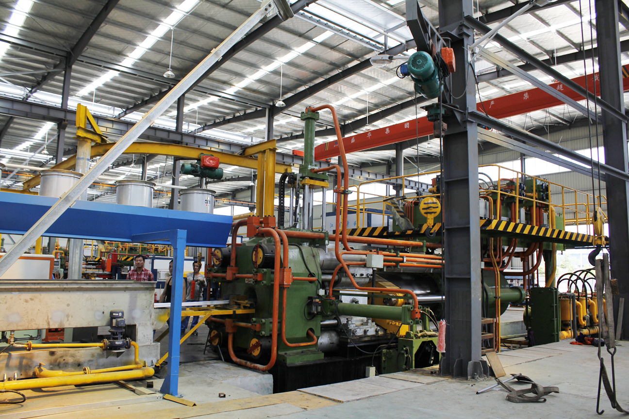Extrusion production lines