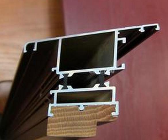 B001 aluminum composite wood series insulation materials