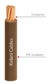 Indoor cable (single core insulated, non-sheathed)