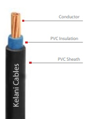 Indoor cable (single core insulated and sheathed)